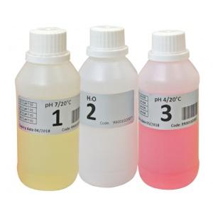 Набор буферных (калибровочных) растворов Seko (pH 4