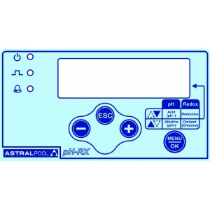 Насос-дозатор AstralPool Exactus с пропорциональным регулированием pH/Rx, давление 5 бар, объём 10 л/ч арт. 57170