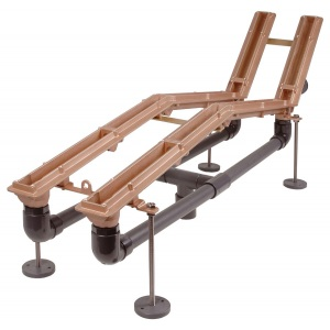 Закладной комплект аэромассажного лежака 1 канал Hugo Lahme арт. 8755150