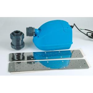 Насосный комплект воздушного гейзера Hugo Lahme 50 м3/час, 220 В, 0,5 кВт 1 прямоугольная плата 240 мм арт. 8792020