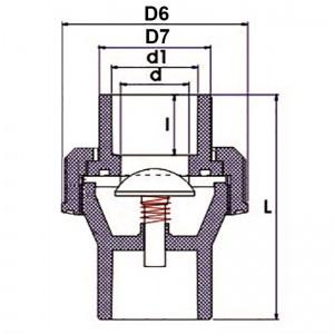 0 МПа d_25 мм /USU0225/ арт. USU02025