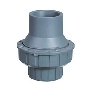 Обратный клапан 1-муфтовый подпружиненный ПВХ Pool King 1,0 МПа d_63 мм /USU0263/ арт. USU02063