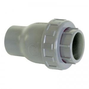 Обратный клапан ПВХ 'Uniblock' 1,6 МПа d_90 мм Coraplax /1310090/ арт. 1310090