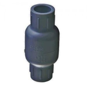 Обратный клапан пружинный ПВХ Aquaviva