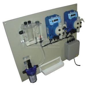 Панели управления Seko Kontrol TPR, 0÷14pH / ±1500 мВ, 24 л/ч, 5 бар, с 2 насосами Tekna TPR 803 арт. KPS01PM82000