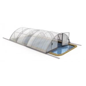 Павильон для бассейна Composit Group Стандарт (литой поликарбонат) 636 х 350 х 95 см