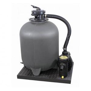 Песочная фильтровальная установка Chemoform SF с насосом Aqua Plus 11