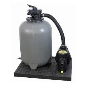 Песочная фильтровальная установка Chemoform SF с насосом Aqua Plus 8, 8 м³/ч, объем бассейна 40 м³, 895x500x740 мм арт. 502010491