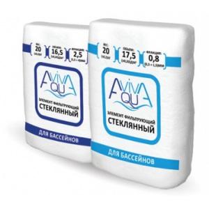 Стеклянный фильтрующий элемент AquaViva (Россия). Фракция 0