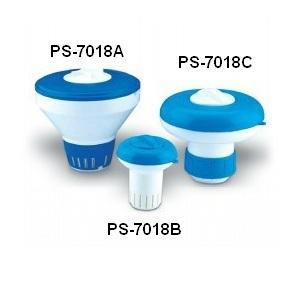 Плавающий дозатор 160 гр 'MINI' для таблеток (IML) арт. PS-7018-B