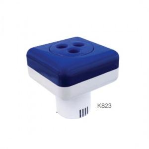 Плавающий дозатор квадратный большой Kokido Classic (на 5 таблеток 75 мм) арт. K823BU