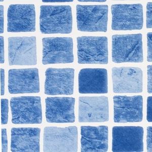 Пленка ПВХ 1,65х25,00 м 'Haogenplast', Pacific, синяя мозаика арт. Pacific