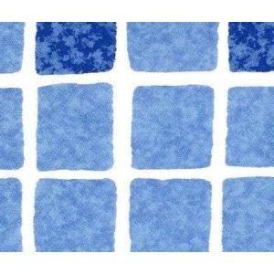 Плёнка ПВХ 1,65х25,00 м 'SBG SUPRA 160', Mosaic blue /2000749 арт. 2000749
