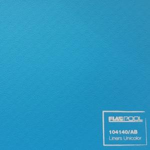 Плёнка ПВХ Flagpool Azzurro (голубая / AB) ребристая, 1,50х20,00 м