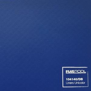 Плёнка ПВХ Flagpool Dark Blue (синяя / DB) 1,60х25,00 м арт. 104140/DB / 53594/DB