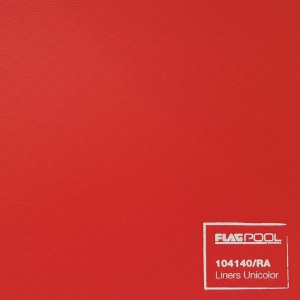 Плёнка ПВХ Flagpool Rosso (красная / RA) 1,60х25,00 м арт. 104140/RA / 53594/RA