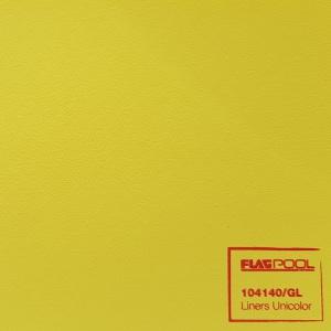 Плёнка ПВХ Flagpool Yellow (светло-жёлтая / GL) 1