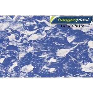 Плёнка ПВХ Haogenplast Ogenflex Granit NG 2 (тёмный)