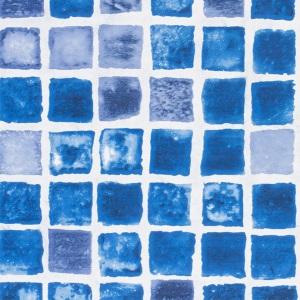 Плёнка ПВХ Haogenplast Ogenflex Snapir NG Blue (тёмно-синяя)