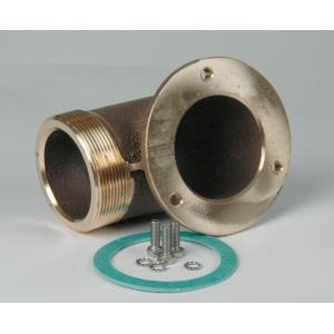 Подключение к помпе (насосу) Hugo Lahme RG 2,6 кВт, подключение G2 1/2′ 90° арт. 7158550