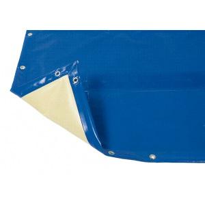 Покрытие ПВХ защитное зимнее AstralPool Intersup Eco (цвет: синий + бежевый) для бассейнов стандартной формы арт. 09338