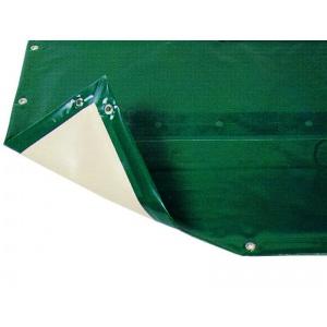 Покрытие ПВХ защитное зимнее AstralPool Intersup Eco (цвет: зелёный + бежевый) для бассейнов стандартной формы арт. 09526