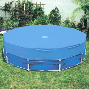 Запасное покрытие для бассейнов MTH круглой формы, монтаж зажимной, 2 м, глубина 0,6 м, пленка 0,6 мм, цвет синий арт. 1020400