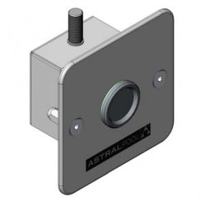 Простой переключатель для душа AstralPool из нержавеющей стали арт. 52060