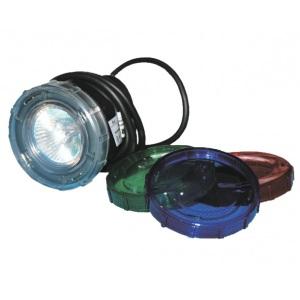 Прожектор для гидромассажных ванн пластиковый (20Вт/12В) (cветофильтр в комплект) Emaux ULP-50 (Opus)