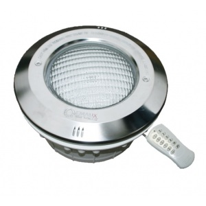 Прожектор пластиковый с рамкой из нерж. стали (16 Вт, 12 В) c LED-элементами Emaux LED-NP300-S (Opus) арт. 88045366
