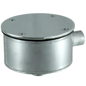 Распаячная коробка Аквасектор круглая, универсальная, AISI-304 арт. АС 10.010