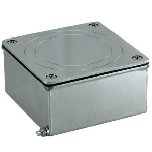 Распаячная коробка Аквасектор квадратная, универсальная, AISI-304 арт. АС10.020
