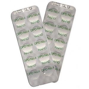Реагентные таблетки CTX DPD №4 / 16219 арт. 16219