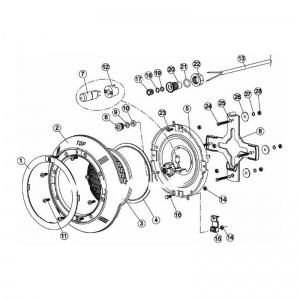 Защелка-крепеж крестовины для светильника IML В-040-L (поз. 15) арт. B-040-L15