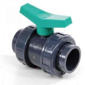 Шаровый кран ПВХ 1,6 МПа d_20 мм Coraplax (HDPE-EPDM) /1010020 арт. 1010020
