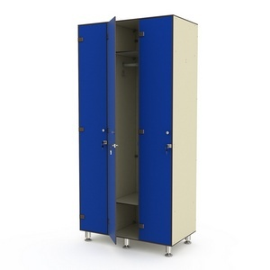 Шкаф трехсекционный одноярусный 3-1 Птк-Спорт