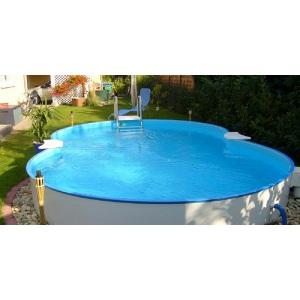 Сборный бассейн Summer Fun Exklusiv в форме '8' 120х855х500 см арт. 501010516KB