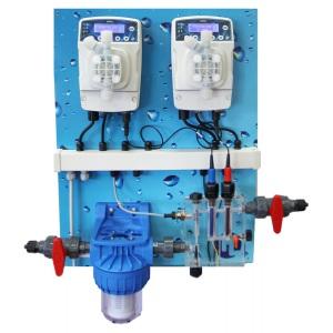 Система автоматического дозирования Etatron eOne Guard 1 pH/Rx (панель в сборе)