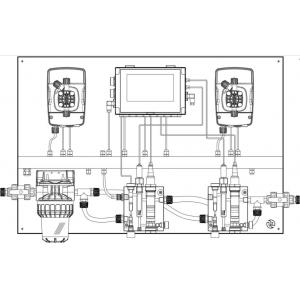 Система автоматического дозирования Etatron eOne Guard Max pH/Rx/Cl/T (Sonda Cl)