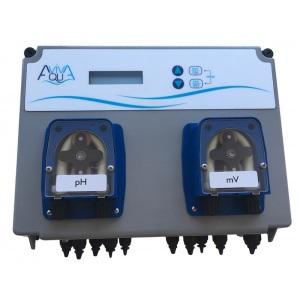 Система дозирования Aquaviva pH/Rx, 1,5 л/ч, 1,5 бар, 2 перистальтических насоса, для бассейнов 50–250 м3 (в комплекте с измерительным набором) арт. AVPHRX15