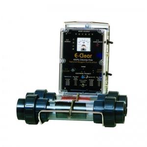 Система кислородной очистки воды с функцией ионизации и минерализации E-clear MK7/CF1-150, 40 м3/час, для бассейна до 150 м3