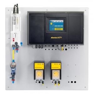 Система управления для одного бассейна Dinotec AquaTouch+ COMPACT Poolcare (активный кислород) /pH