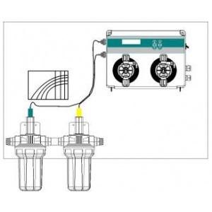 Системы контроля pH и редокс-потенциала Seko Kontrol Easy. Двойной контроллер