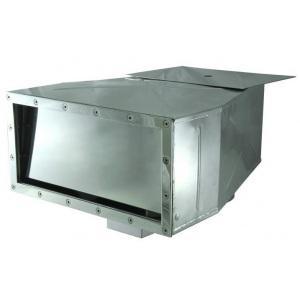 Скиммер Аквасектор с широким раструбом и блоком автоматического долива, 7 м³/ч, под плёнку, AISI-304 арт. АС 05.170 А