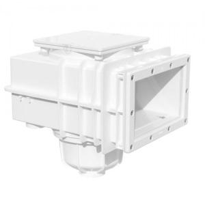 Скиммер MTS Produkte V20 для сборных и пленочных бассейнов, удлинение 234 х 134 мм, подключение 50/63 мм, цвет серый
