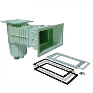 Скиммер Pool King для плёночного бассейна 15 л. c широким раструбом подключение внутреннее 1½' (винт) /PA00250.1V/ арт. PA00250.1V