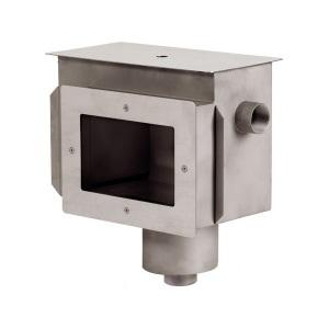 Скиммер Xenozone с системой электронного контроля уровня воды 2' ВР (под плёнку) AISI-304 арт. СК.30.0