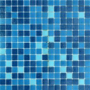 Смесь из стеклянной мозаики JNJ Gold JC171 (плитка 20x20 мм)