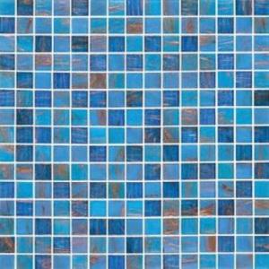Смесь из стеклянной мозаики JNJ Gold JC828 (плитка 20x20 мм)