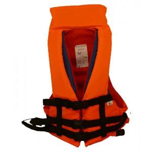 Спасательный жилет детский ПТК Спорт Дельфин сигнального цвета М2С, с воротником арт. 034-1775